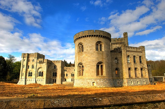Gosford Castle, County Armagh, Northern Ireland