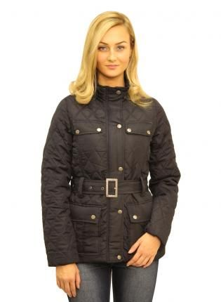 Blue Diamond Quilted Jacket