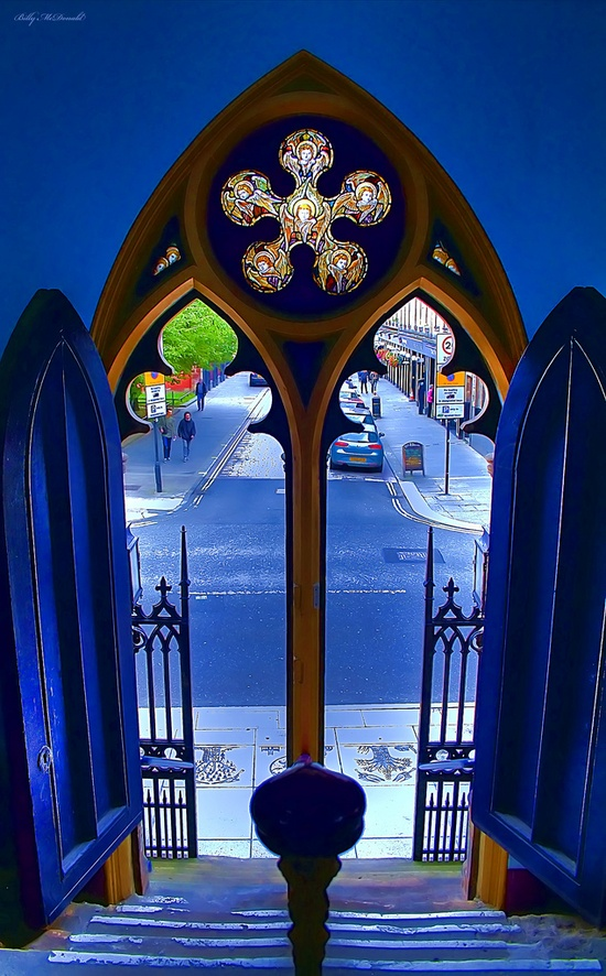 church #door
