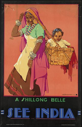 See India. A Shillong Belle by Boston Public Library, via Flickr
