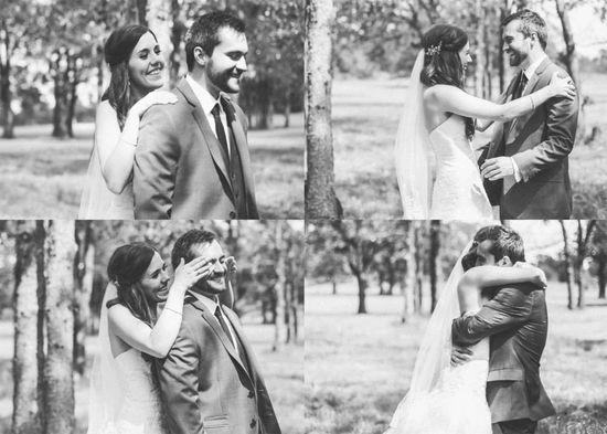 Wedding photos #HannahSeigrist #firstlook