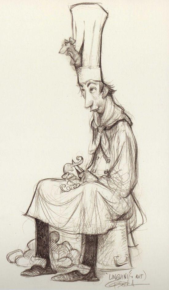 """""""Ratatouille"""" character concept"""