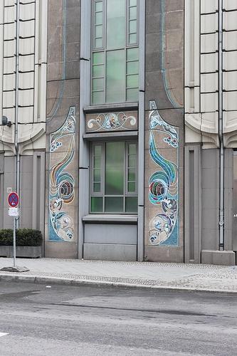 Berlin Art Nouveau Detail