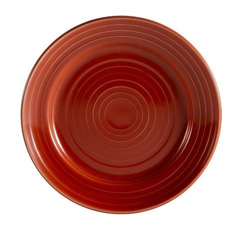 CAC China TG-16R Tango Red Porcelain Plate, 10-1/2-Inch, Box of 12 by CAC China. $69.89. Durable china; break, chip and scratch resistance in normal use. Oven, microwave and dishwasher safe. Round dinner plate. Porcelain; red. Modern and trendy for hospitality and foodservice industry. With a long history in the tabletop industry, C.A.C China has been recognized as a trend leader for its innovative patterns and outstanding commercial grade china. C.A.C China's missio...
