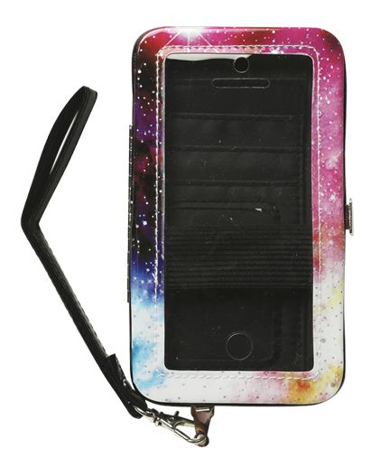 Cosmic Phone Wallet - Tech Accessories from Wet Seal