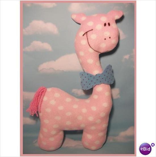 Stuffed Animal Sewing Pattern: Giraffe