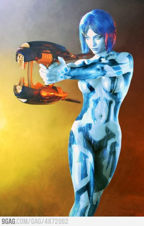 I wanna be Cortana for halloween :(