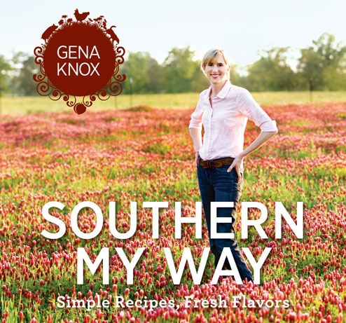 Gena Knox Southern Cookbook... excellent recipes and beautiful Southern photos throughout..