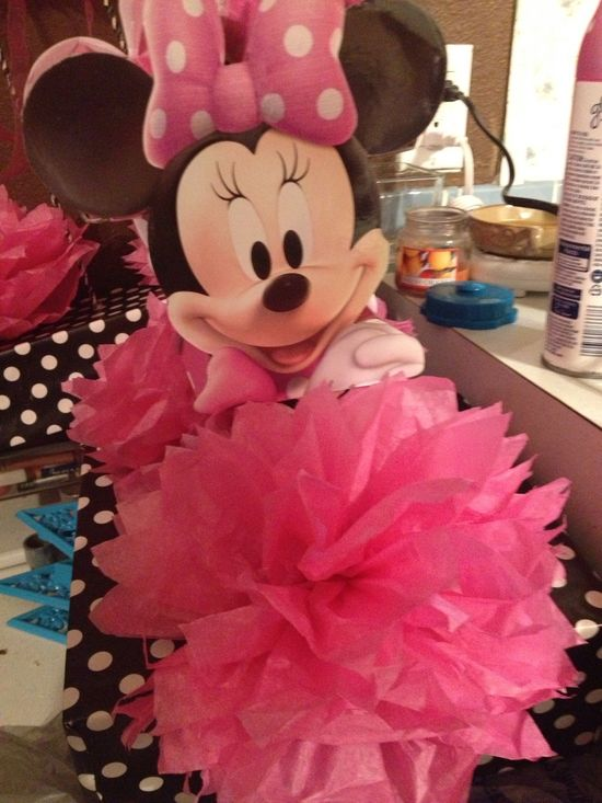 DIY Minnie Mouse Party Decorations