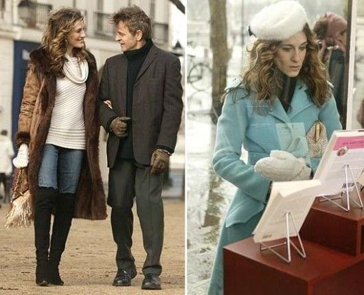 Carrie Bradshaw's strolling through Paris style