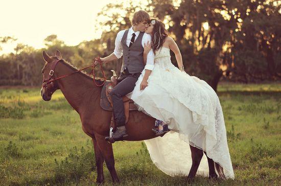 rustic eclectic wedding