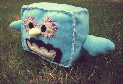 handsewn plushie. #owl #plushie #handmade #art #crafts