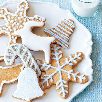 What goes better with a hot cuppa tea than a whole wheat Holiday Sugar Cookie?