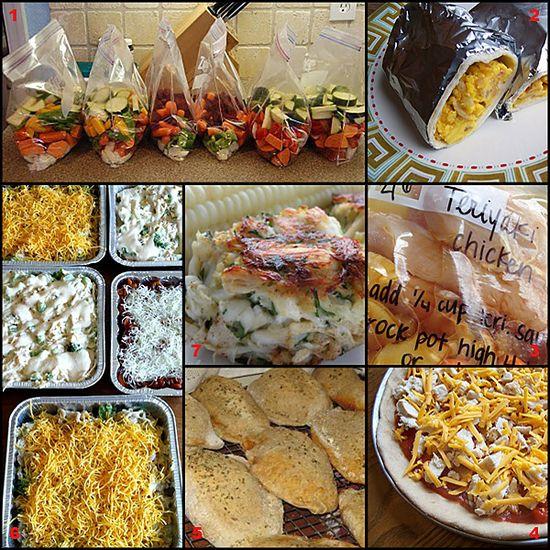 Tasty Tuesday: Freezer Cooking Recipe Roundup