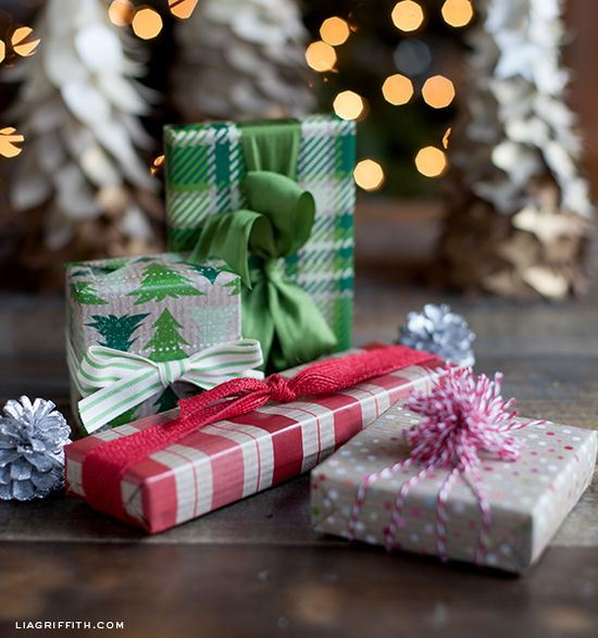 Printable Holiday Gift Wrap: Kraft & Tartan Plaid