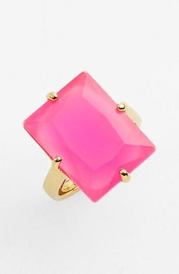 Looks like candy! The perfect cocktail ring from kate spade new york.