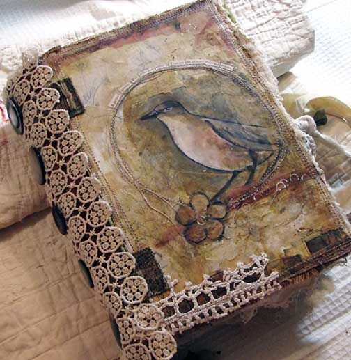 Fabric Art Journal - dj pettitt