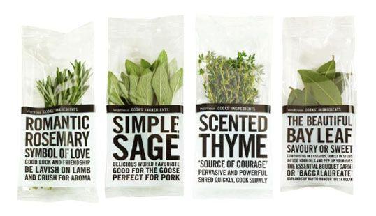 Type packaging.