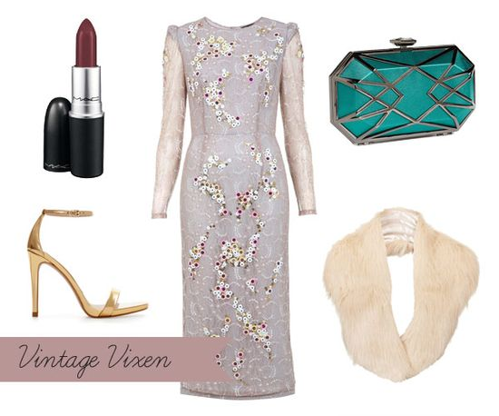 Vintage Style Winter Guest Outfit