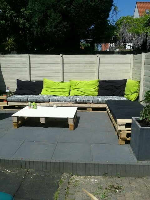 Outdoor Furniture from Pallets