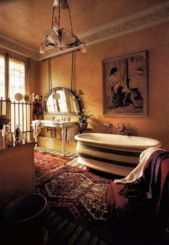 fabulous (!) bathroom.