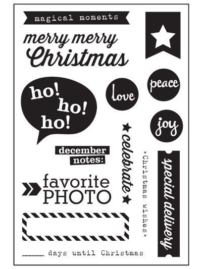 Exclusive Christmas Stamp