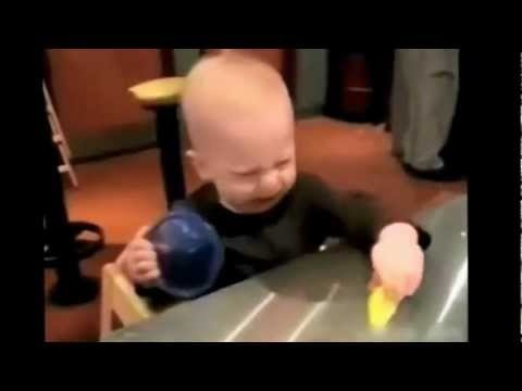 Funny baby video ( eating lemon compilation )