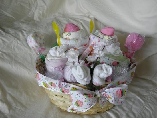Baby Dessert Gift Basket