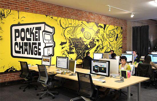 Pocket Change's office by Blitz, San Francisco - California
