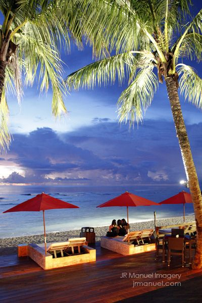 Guam beach side