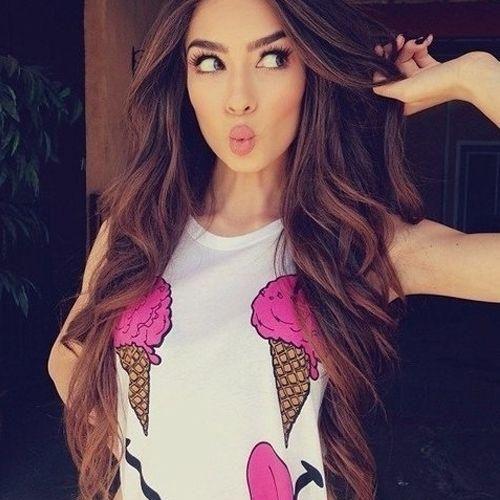 Victoria's Secret Hair Style
