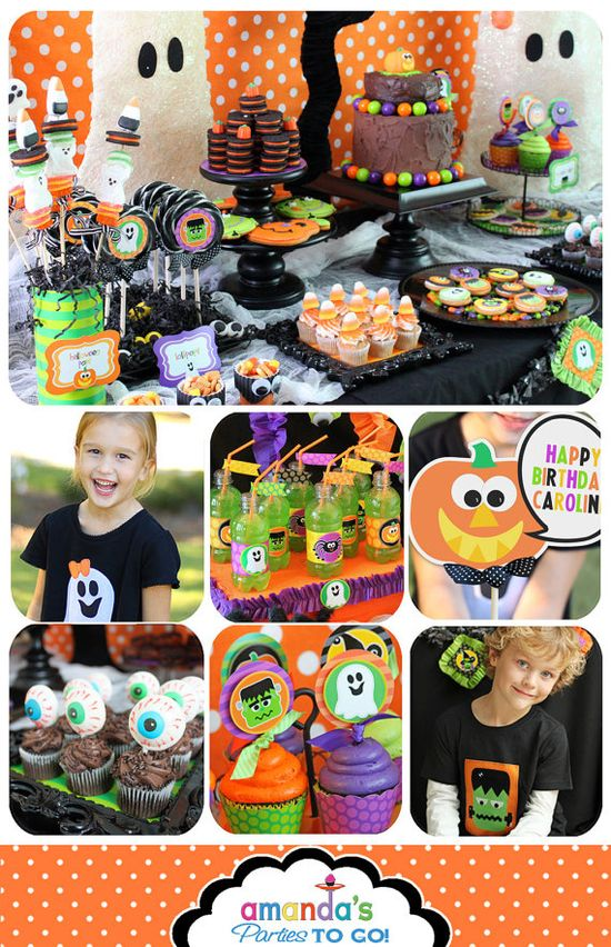 Birthday Halloween Party Printable Birthday by AmandasPartiesToGo