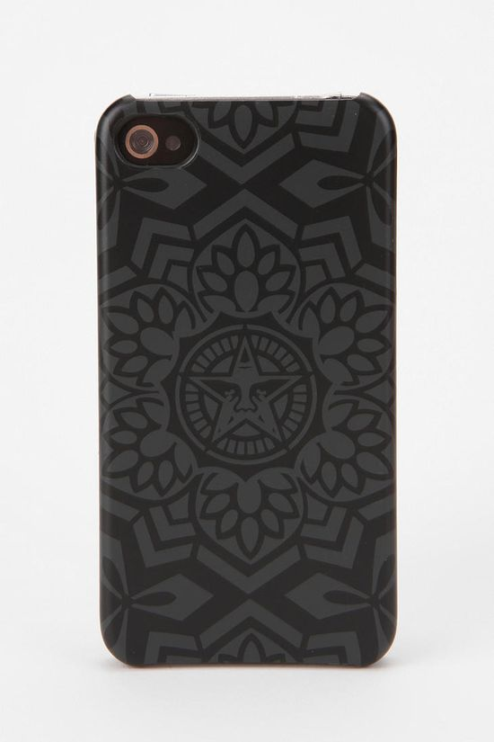 Shepard Fairey X Incase iPhone 4/4s Case - Black   #UrbanOutfitters