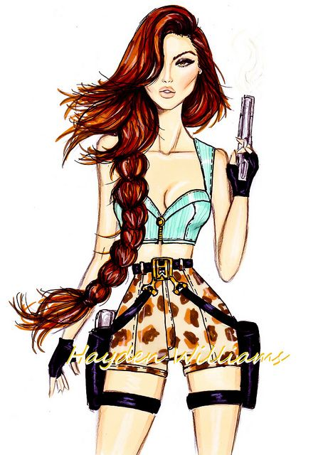 Lara Croft by Hayden Williams by Fashion_Luva, via Flickr
