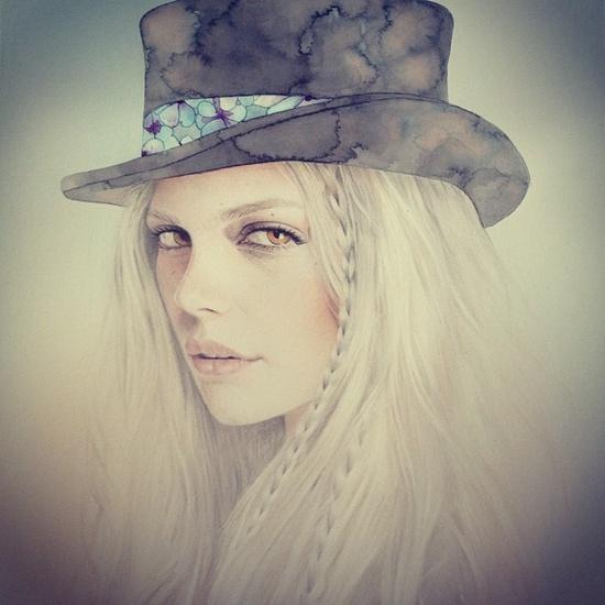 Bec Winnel #illustration #painting #drawing
