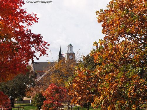 Fall Scene  Wichita State University