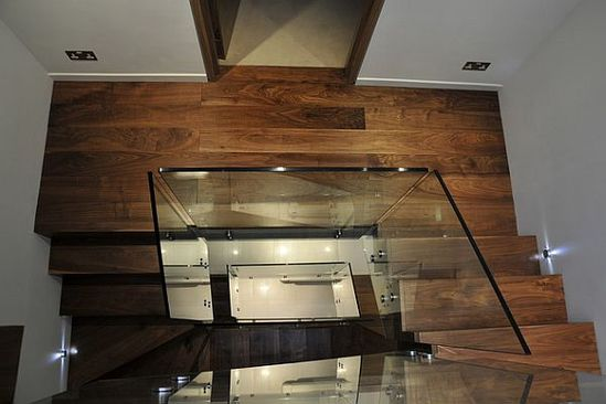 Ultra modern walnut flooring