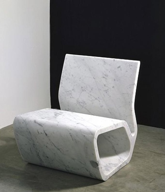 Marble sculpture/furniture