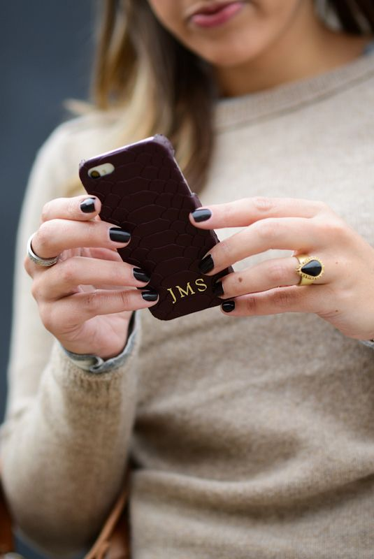 GiGi New York : Sharing My Sole Fashion Blog : iPhone Case
