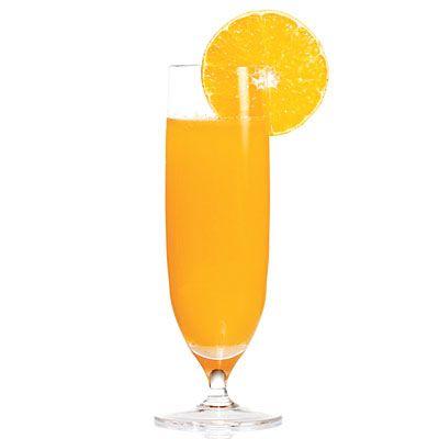 Clementine Sparkler- a fun twist on the standard mimosa!