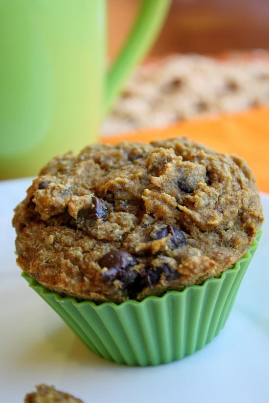 Pumpkin Chocolate Chip Muffins – Gluten Free & Vegan