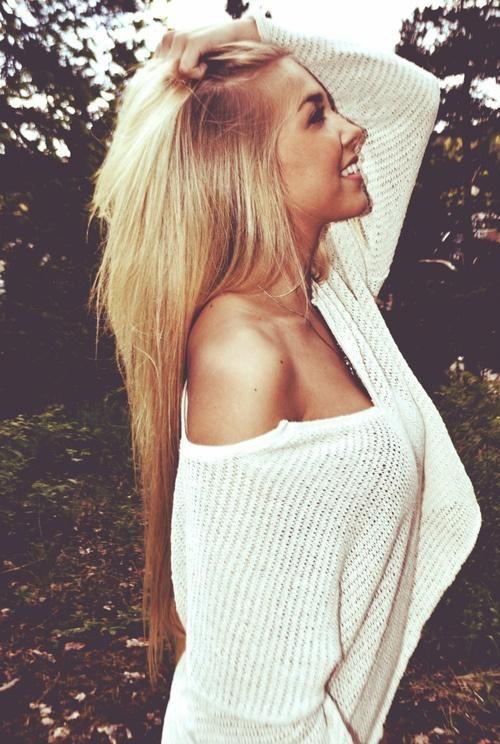 pretty long hair
