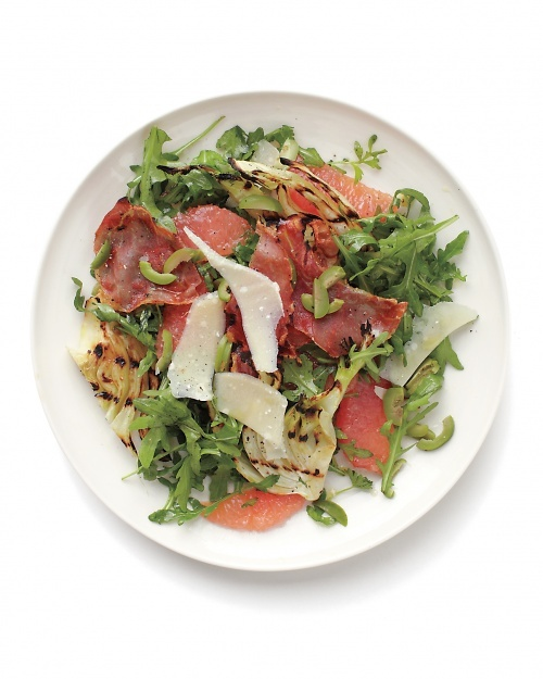 Grapefruit and Grilled Fennel Salad - Try one of our tasty combinations, and salad becomes the meal.