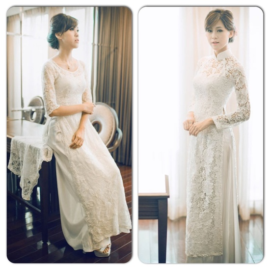 "In Viet Nam, the ""ao dai"" is the traditional dress for women."