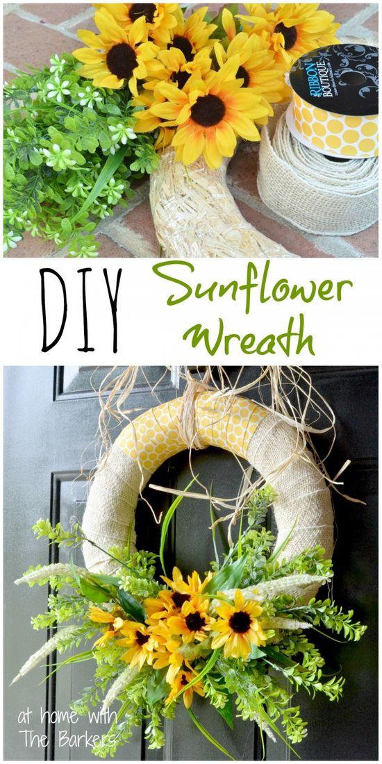 DIY Summer Sunflower