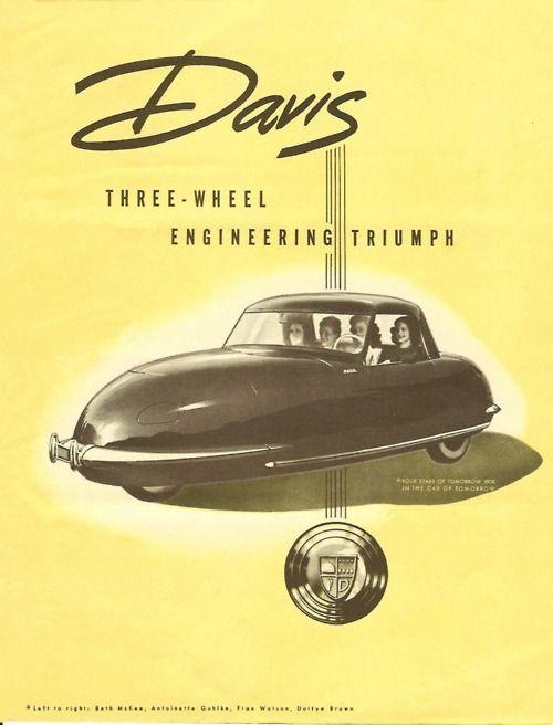 Davis 3-wheel car