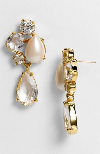 kate spade new york 'fragment' drop earrings