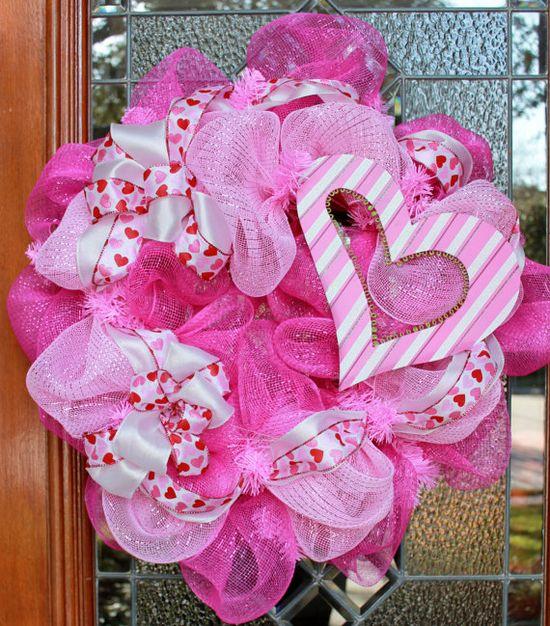 Love this Valentine wreath