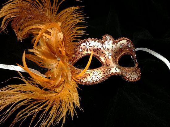 Masquerade Mask  Pretty Handmade flower by MasquerademaskStudio, $27.95
