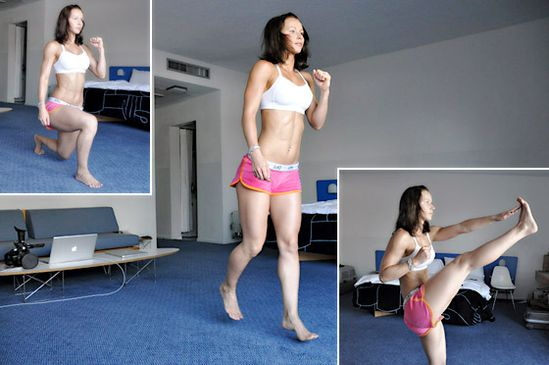 600 Rep Fat Burner Workout - 10 exercises... No equipment... photos to show the exercises instead of a video :)